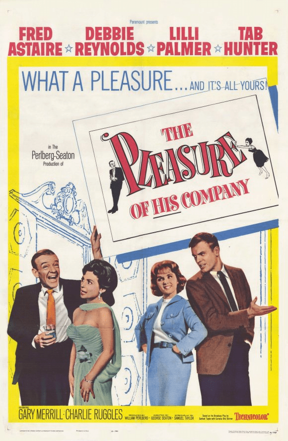 The Pleasure of His Company 1961 on DVD