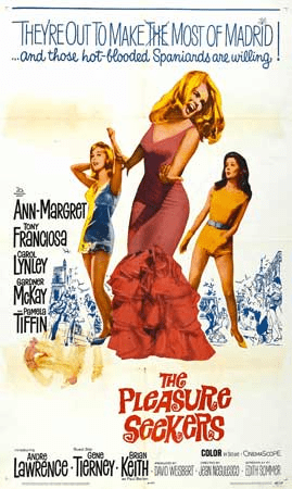 The Pleasure Seekers 1964 on DVD