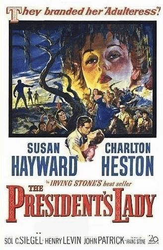 The President's Lady 1953 on DVD