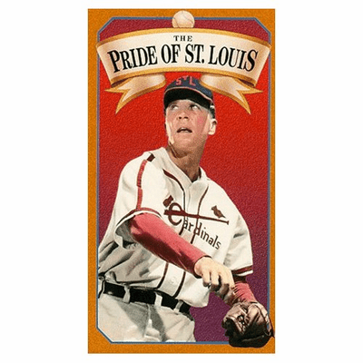 The Pride of St. Louis 1952 on DVD