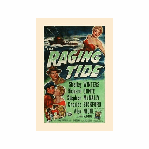The Raging Tide 1951 on DVD