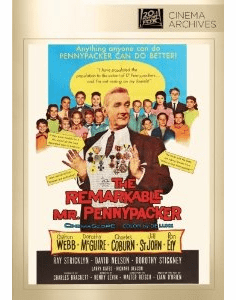 The Remarkable Mr Pennypacker 1959 on DVD