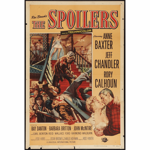 The Spoilers 1955 on DVD