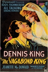 The Vagabond King 1930 on DVD