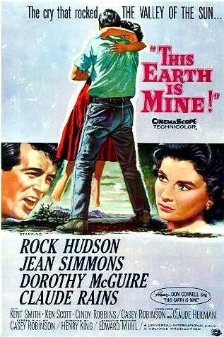 This Earth Is Mine 1959 on DVD