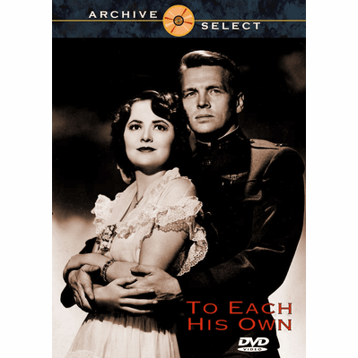 To Each His Own 1946 on DVD