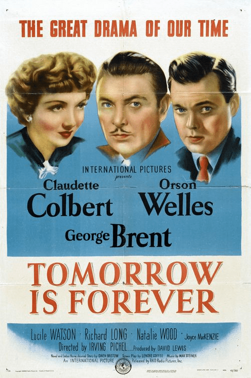 Tomorrow Is Forever 1946 on DVD