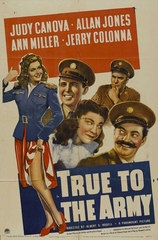 True to the Army 1942 on DVD