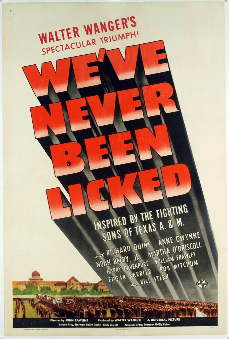 We've Never Been Licked 1943 on DVD