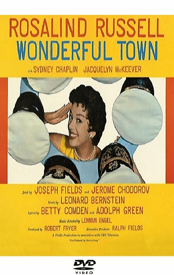 Wonderful Town 1958 on DVD