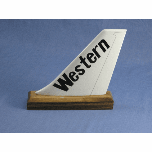 Western Airlines Logo tails