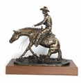 """""""In The Dirt"""" Extra Large Reining Horse (small base)"""