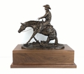 """""""In The Dirt"""" Large Reining Horse (large base)"""