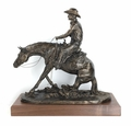 """""""In The Dirt"""" Large Reining Horse (small base)"""