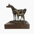 """""""Spring Addition"""" Arabian Mare and Foal Trophy"""