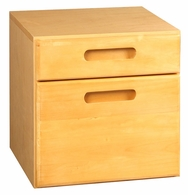 American Security StorIt Two Drawer Cabinet