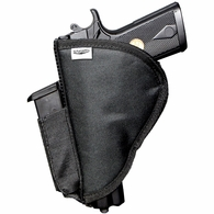 Stealth XL Velcro Pistol Holster with Spandex Magazine Attachment
