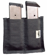 Stealth Velcro Double Magazine Pouch for Gun Safes and Concealed Carry