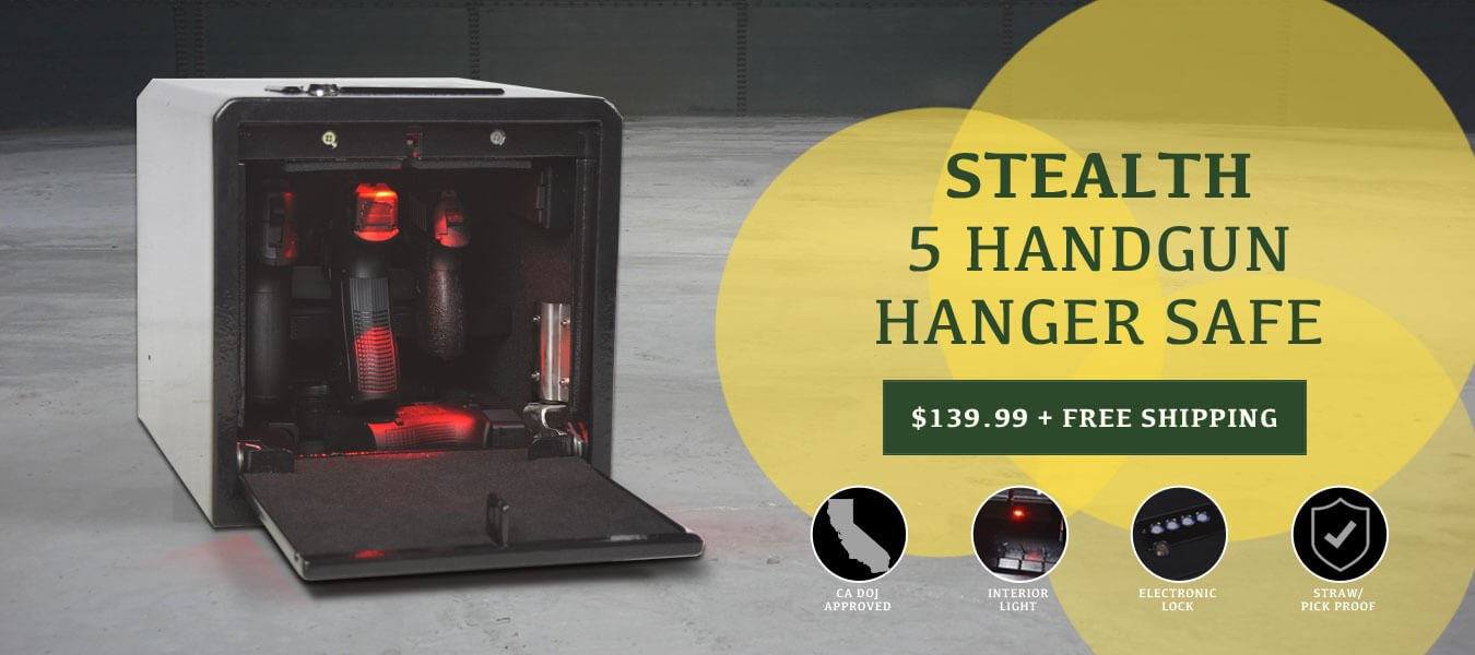 Stealth 5 Handgun Hanger Safe