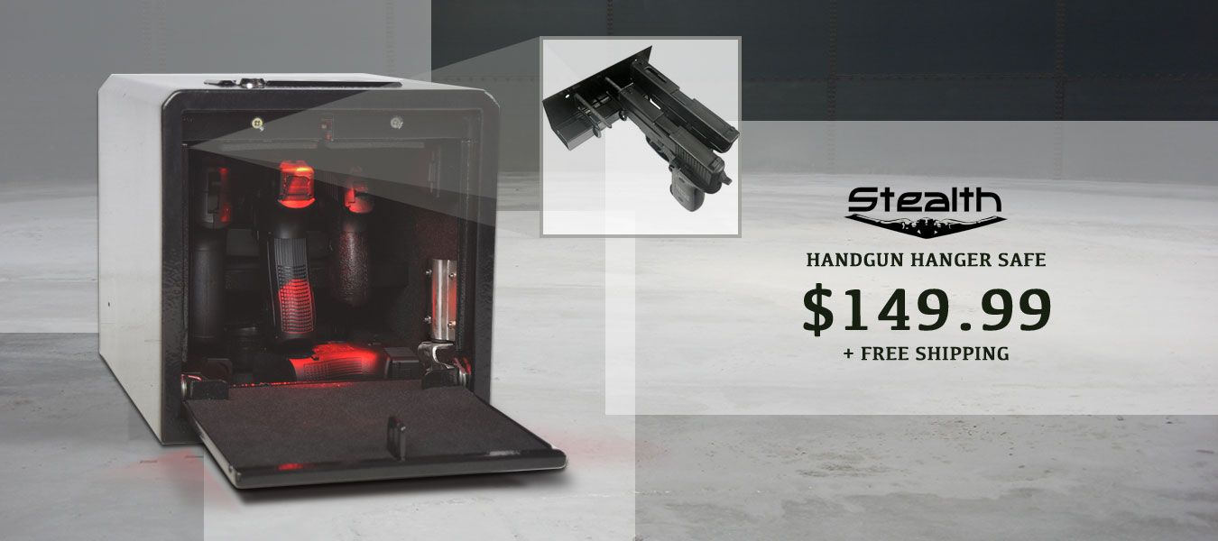 Stealth Handgun Hanger Safe