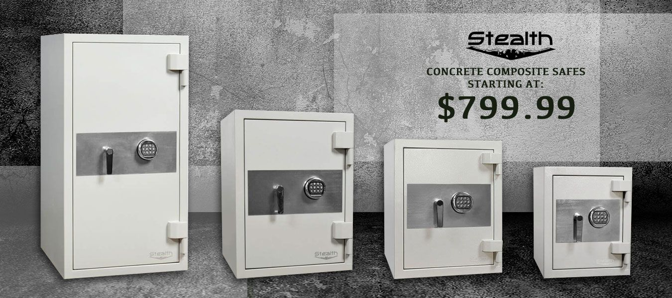 NEW Stealth Concrete Composite Safes