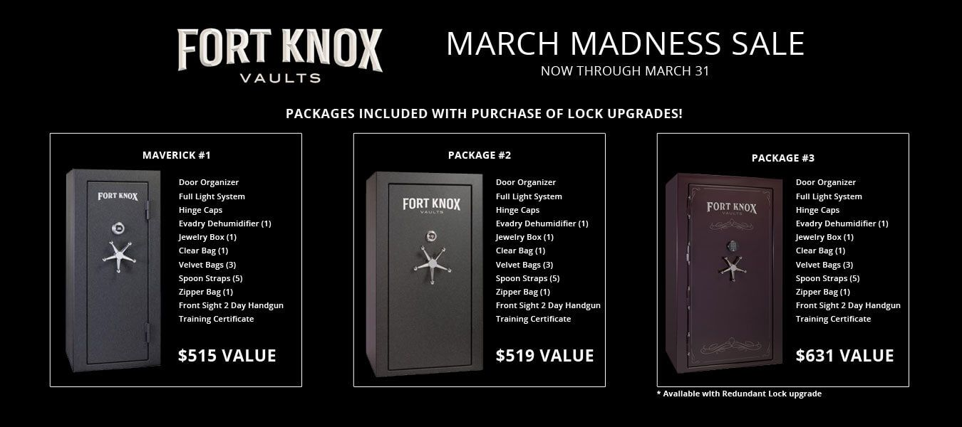 Fort Knox March Madness Sale