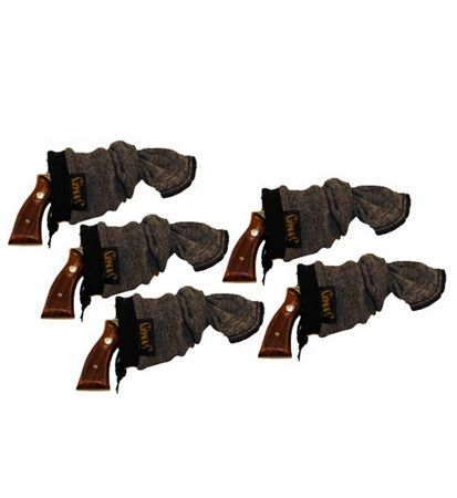 """Sack-Ups 13.5"""" Knitted Silicone-Treated Pistol Socks - 5 Pack"""