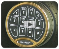 SecuRam Electronic Lock Video
