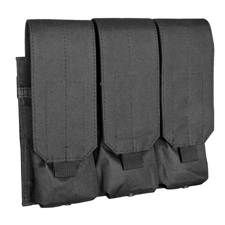 Stealth Molle Triple Magazine Pouch Tactical Clip Storage