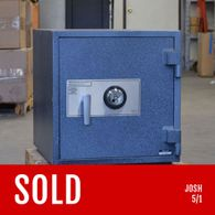 Used AMSEC BF Home Safe Granite Texture with Mechanical Lock