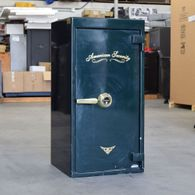 Used AMSEC Home Safe Gloss Green