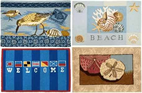 Coastal Style  Rugs and Throw Blankets