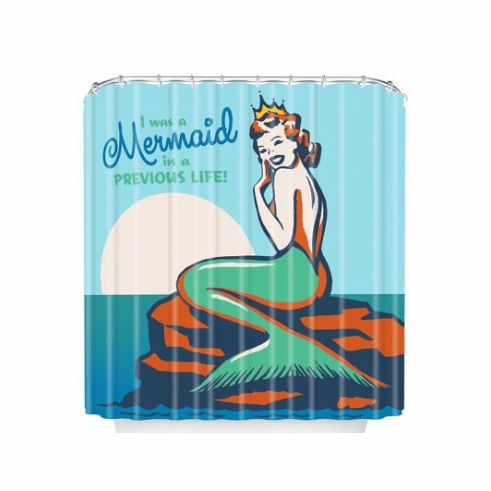 Mermaid Shower Curtain sold out