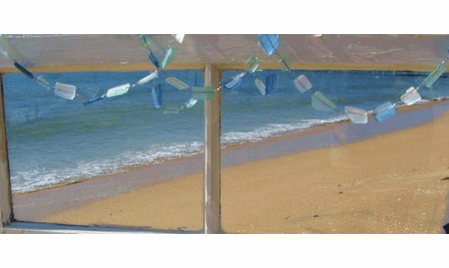 Sea Glass Garland sold out