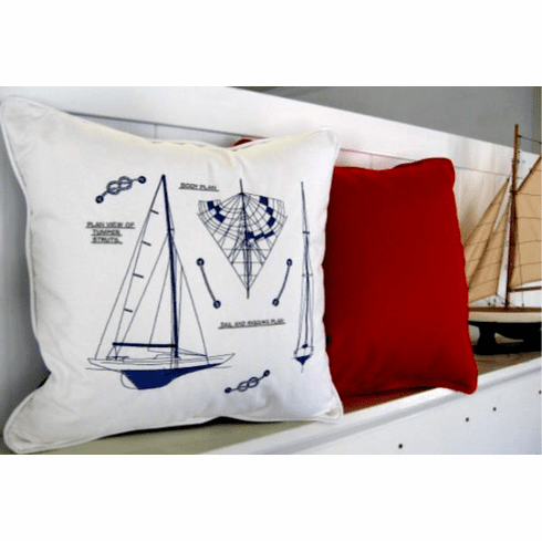 Ship Design Pillow