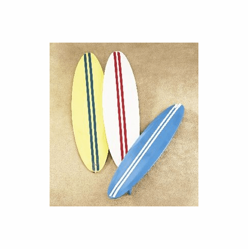 Surfboard Ornaments set of 3