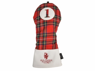 Old Course Tartan Head Cover