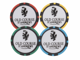 Old Course Poker Chip