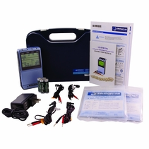 (8 Electrode 4 in 1 Combo Unit) TENS, Muscle Stimulator, Russian Stimulator & Interferential Unit - AC Adapter / Battery