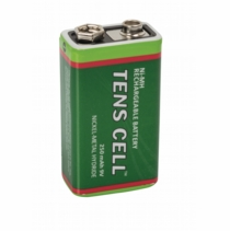 BACKORDER-9 Volt Rechargeable Batteries