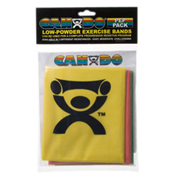 WHILE SUPPLIES LAST Low Powder Exercise Band Pep Packs