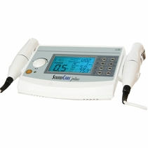 BACKORDER-LIMITED TIME PRICE - Clinical Care Plus Ultrasound Unit with 2 Sound Heads (2 Frequencies: 3-MHz and 1-MHz Ultrasound)