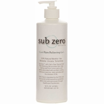 Sub Zero Pain Relief Gel - 16 Ounce Pump