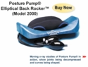 Posture Pump Eliptical Back Rocker