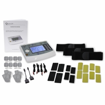 Professional Clinical TENS Unit, Muscle Stimulation, Russian Stimulator, and Interferential Complete Office Kit