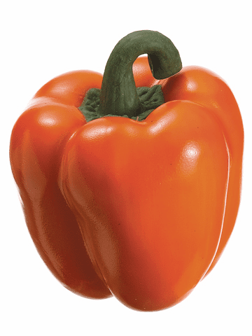 "1 Doz. - 3.5"" Weighted Artificial Bell Peppers"