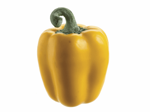 "1 Dozen - 3.5"" Weighted Artificial Bell Peppers"