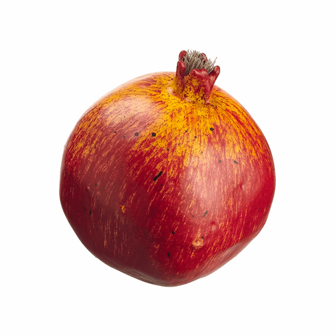 "1 Dozen - 3.5"" Weighted Artificial Pomegranate"