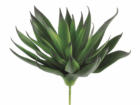 "1 Dozen - 7.8"" Artificial Agave Cactus Plants with 33 leaves"