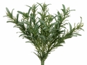 "9"" Rosemary Artificial Bush Stems - Set of 12"